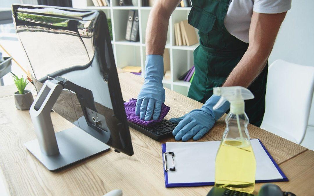 Limpiar desinfectar ordenador
